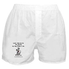 Dog Owner's Prayer Boxer Shorts