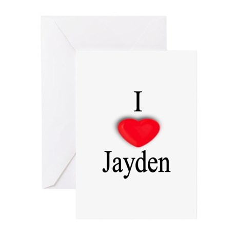 Jayden Greeting Cards (Pk of 10)