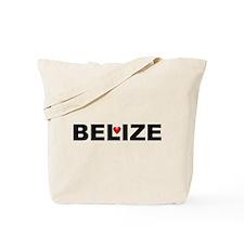 Love Belize Tote Bag