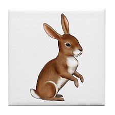 Bunny Rabbit Tile Coaster