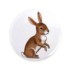 "Bunny Rabbit 3.5"" Button"