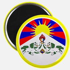 Tibetan Flag Magnet