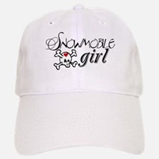 Snowmobile Girl Hat