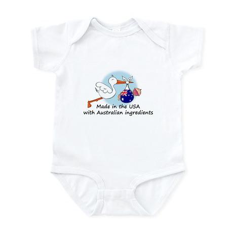 Stork Baby Australia USA Infant Bodysuit