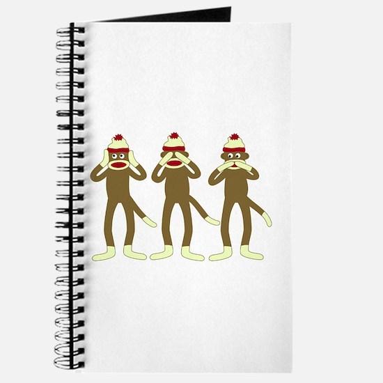 No Evil Sock Monkeys Journal