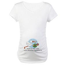 Stork Baby Brazil USA Shirt