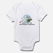 Stork Baby Brazil USA Infant Bodysuit