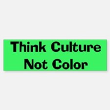Think Culture Sticker (Bumper)
