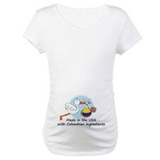 Stork Baby Colombia USA Shirt
