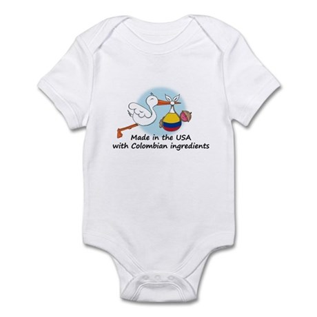 Stork Baby Colombia USA Infant Bodysuit