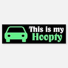 Hoopty Bumper Bumper Sticker