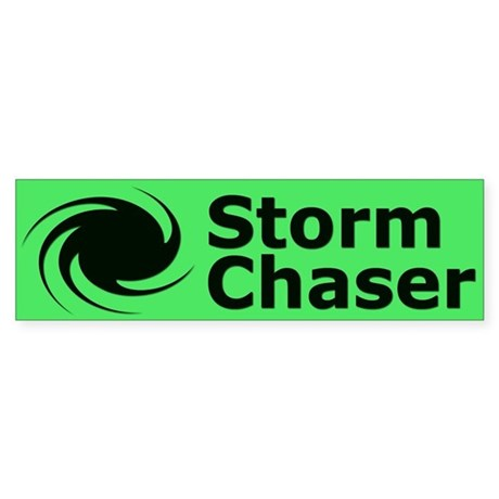 Storm Chaser Sticker (Bumper)