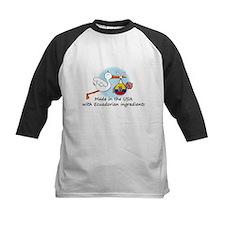 Stork Baby Ecuador USA Tee