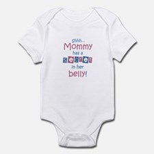 Shhh... Mommy has a secret Infant Bodysuit