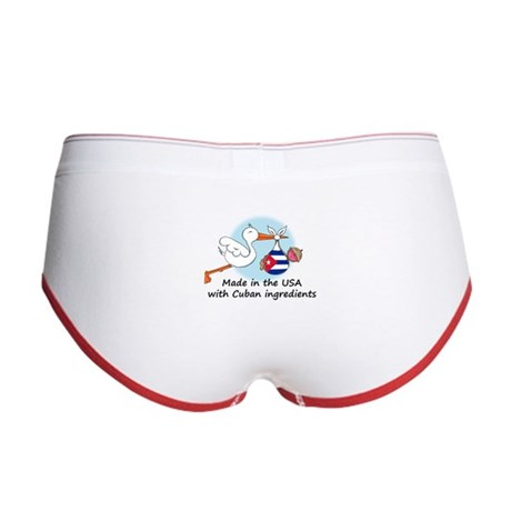 Stork Baby Cuba USA Women's Boy Brief