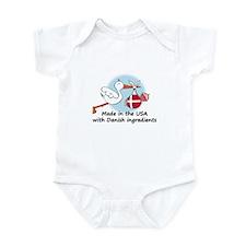 Stork Baby Denmark USA Onesie