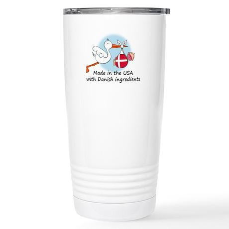 Stork Baby Denmark USA Stainless Steel Travel Mug