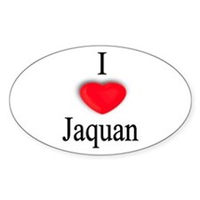Jaquan Oval Decal