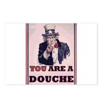 You Are A Douche! Postcards (Package of 8)