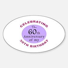 Funny 90th Birthday Gag Decal