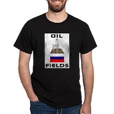 Russia Oil Fields T-Shirt