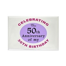 Funny 80th Birthday Gag Rectangle Magnet