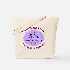 Funny 80th Birthday Gag Tote Bag