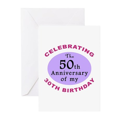 Funny 80th Birthday Gag Greeting Cards (Pk of 10)