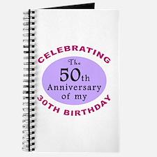 Funny 80th Birthday Gag Journal