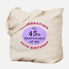 Funny 75th Birthday Gag Tote Bag