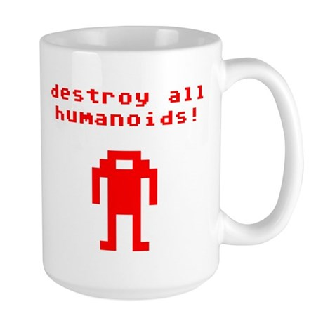 robot-destroy-all-humanoids Mugs