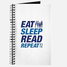 Eat Sleep Read Repeat Journal