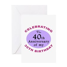Funny 70th Birthday Gag Greeting Card