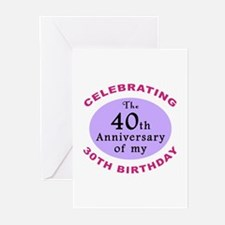 Funny 70th Birthday Gag Greeting Cards (Pk of 20)