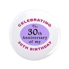 "Funny 60th Birthday Gag 3.5"" Button"