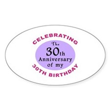 Funny 60th Birthday Gag Decal