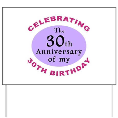Funny 60th Birthday Gag Yard Sign