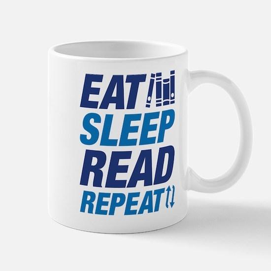 Eat Sleep Read Repeat Mug