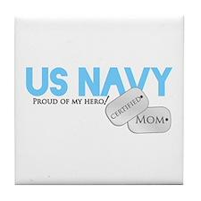 Certified Mom Tile Coaster