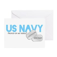 Certified Mom Greeting Cards (Pk of 10)