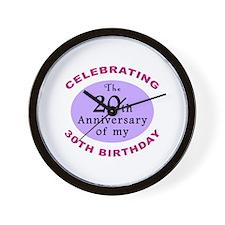 Funny 50th Birthday Gag Wall Clock