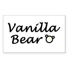 'Vanilla Bear' Decal