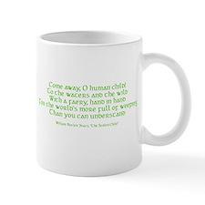 Yeats Faery Quote Mug