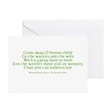 Yeats Faery Quote Greeting Cards (Pk of 20)