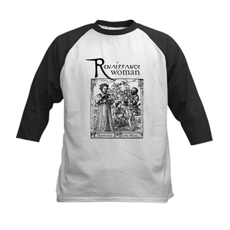 Renaissance Woman Kids Baseball Jersey