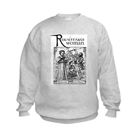 Renaissance Woman Kids Sweatshirt