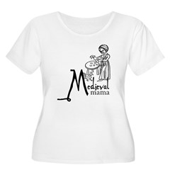 Medieval Mama I Women's Plus Size Scoop Neck T-Shi