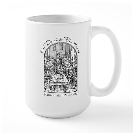 Eat Drink Be Merry 2 Large Mug
