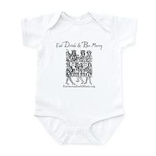 Eat Drink Be Merry 1 Infant Bodysuit