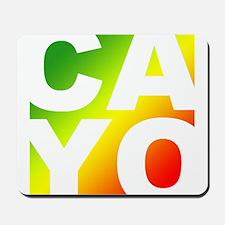 Cayo Ras Mousepad